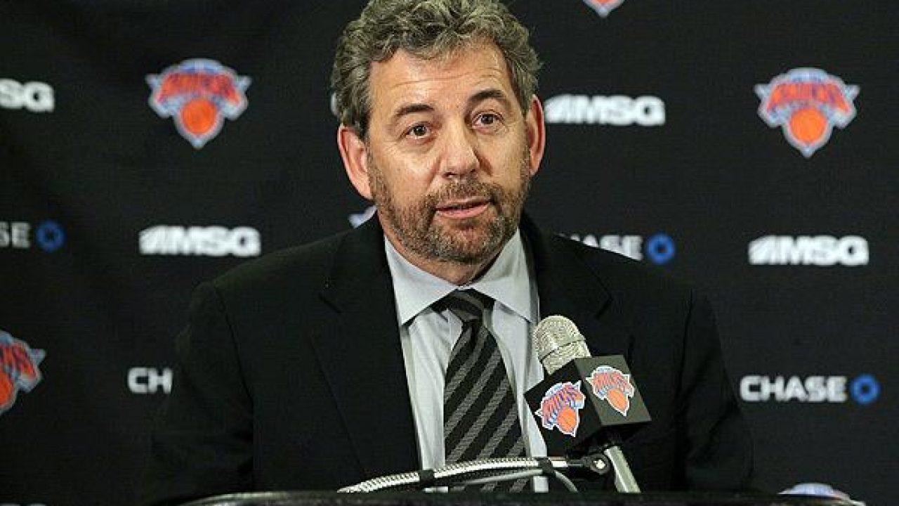James Dolan, chairman dei Knicks in uno dei peggiori periodi della loro storia