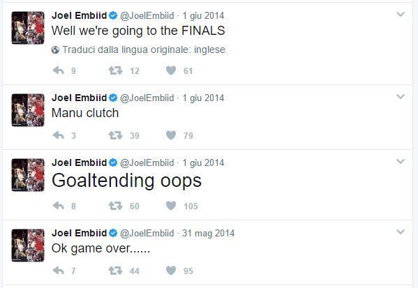 Twitter Joel Embiid