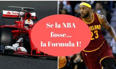 Se la NBA fosse la Formula 1