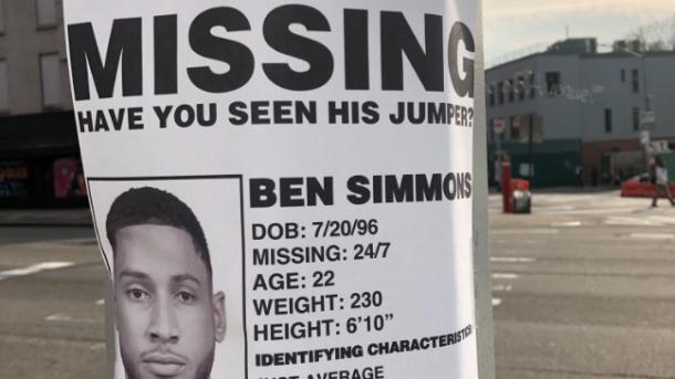 missing ben simmons