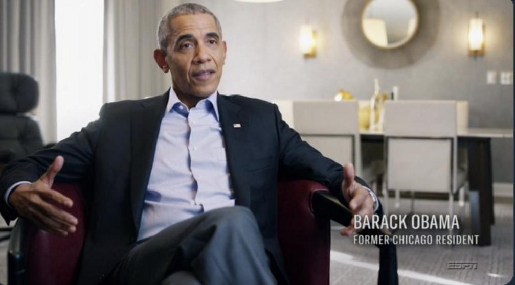 Barack Obama in 'The Last Dance'
