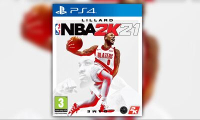 nba 2k21 cover lillard