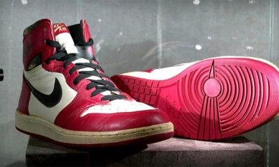 michael jordan scarpe asta