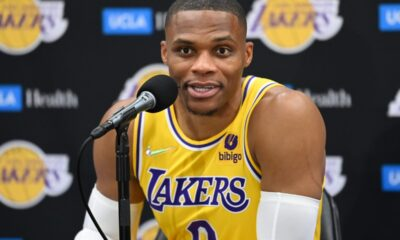 russell westbrook media day lakers